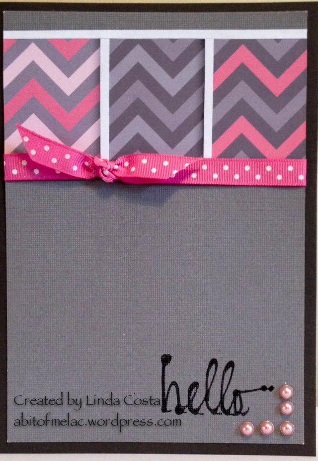 148-LAC Chevron Pink & Grey Hello 5-2014