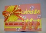 Celebrate orange & yellow