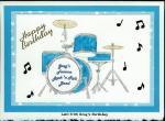 Drums Happy Birthday