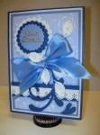 Happy Birthday blue