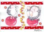 Hedgehog Birthday graphic