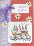 Penny Black Happy Birthday Hedgehogs