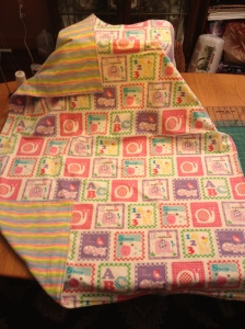 LAC Alphabet Flannel Blanket 3-2013