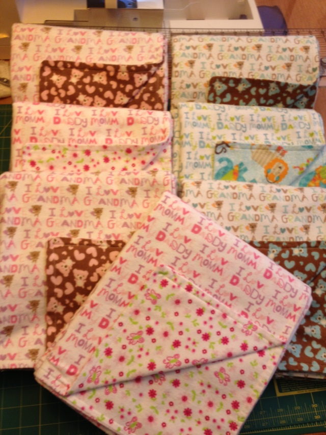 Flannel Baby Blankets 8-2013