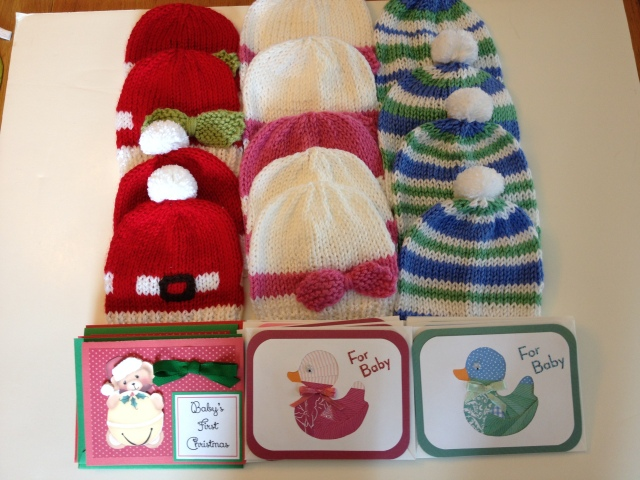 LAC Baby Hats & cards