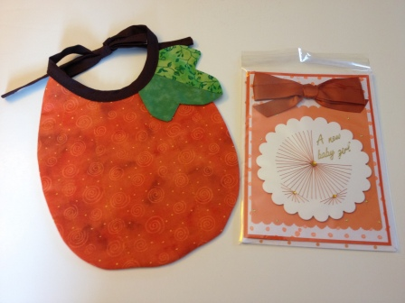LAC Bib Pumpkin & Card