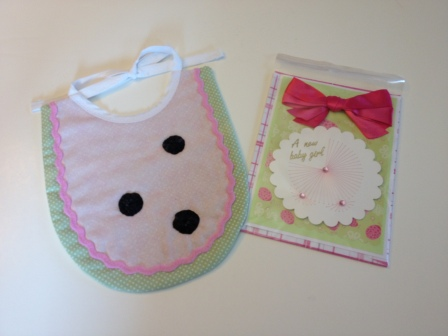 LAC Bib Watermelon & Card