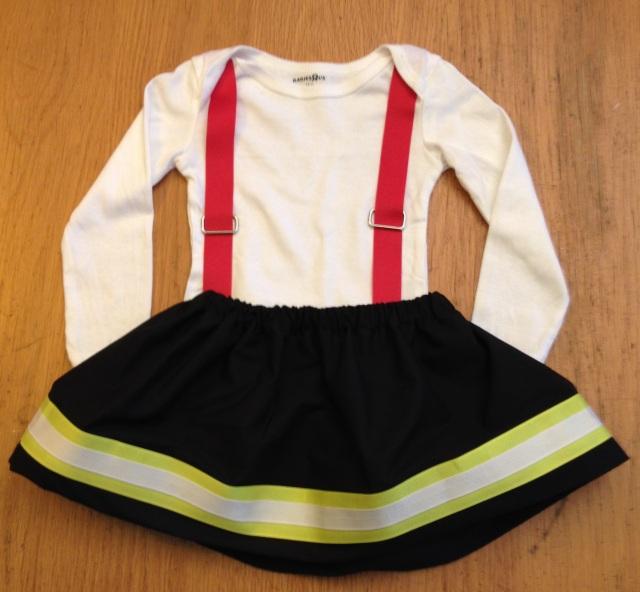 LAC Firegirl costume 10-2013