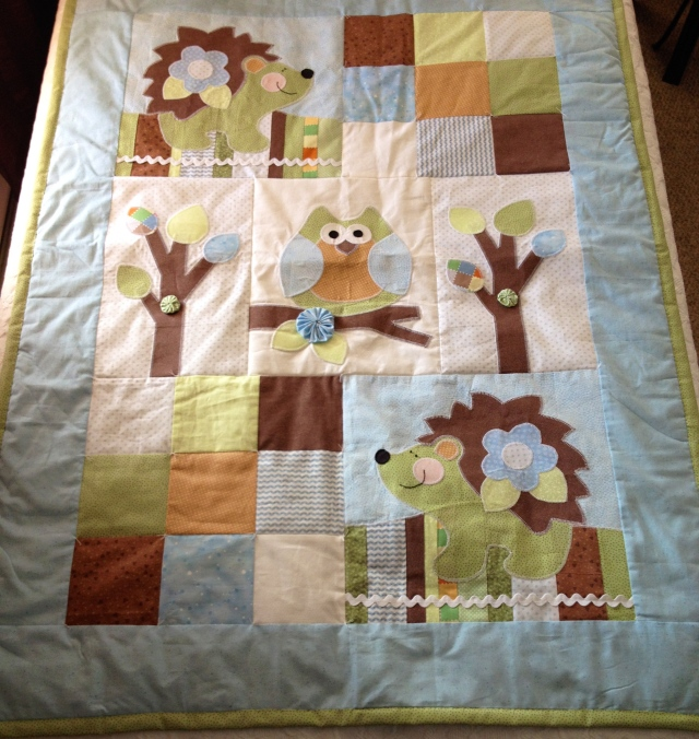 Hedgehog Quilt 1
