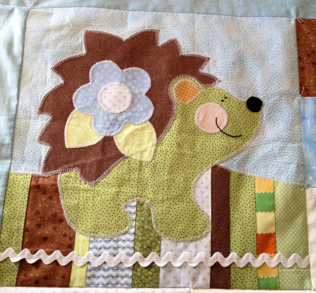 Hedgehog Quilt 2a