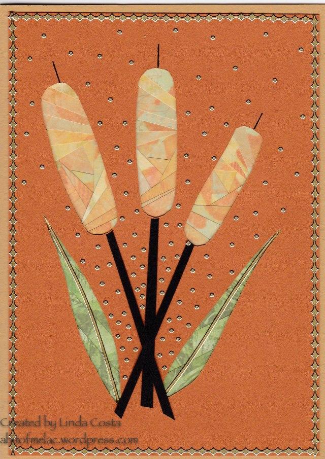 LAC Iris Fold Cattails 4-2014