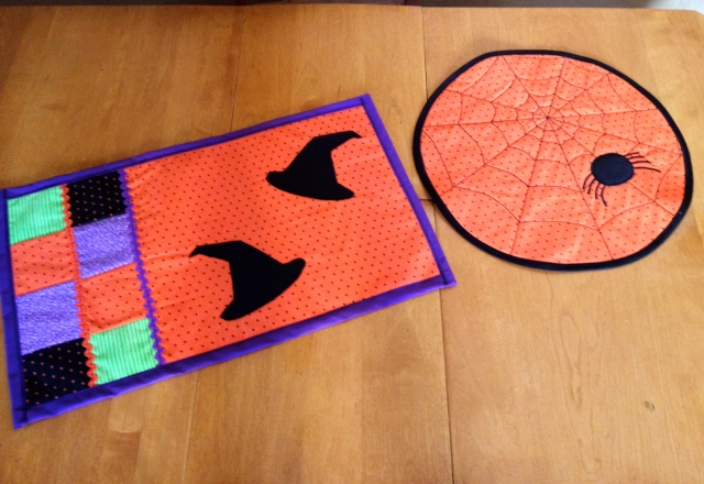 LAC Halloween Table Mats 8-2014