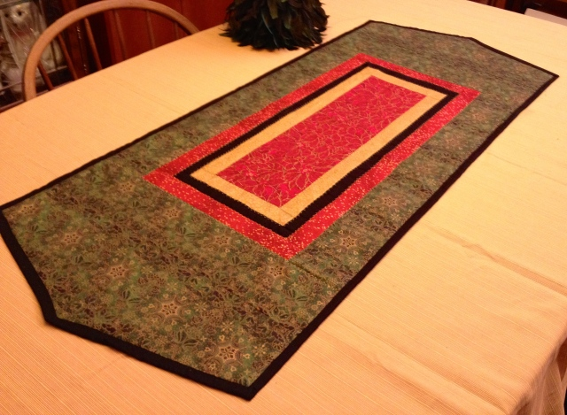 LAC Metalic table runner