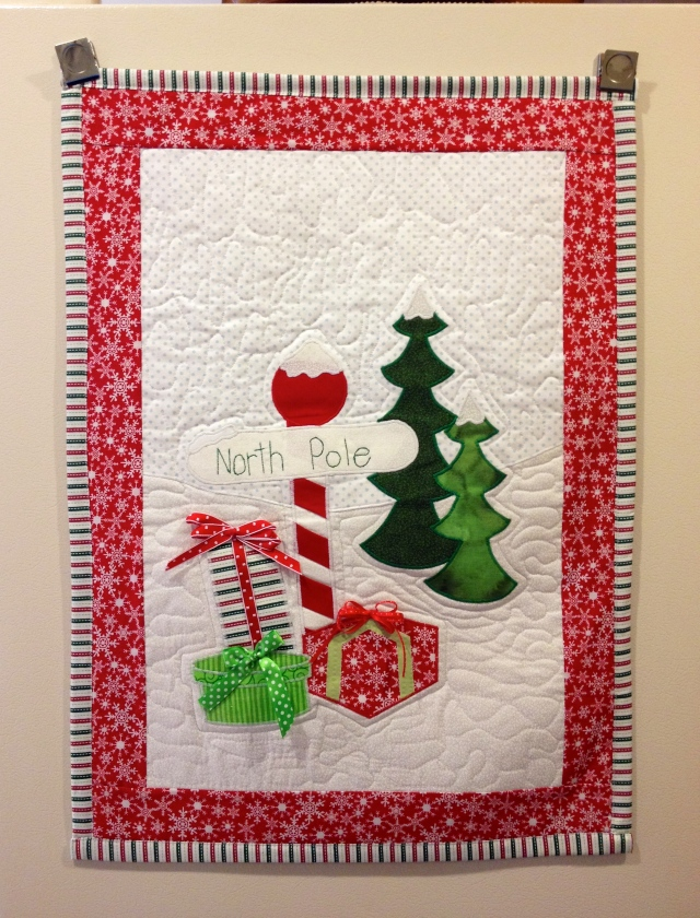 LAC Xmas Wall Hanging 2014