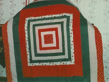 008 Log Cabin Variation Quilt 1988