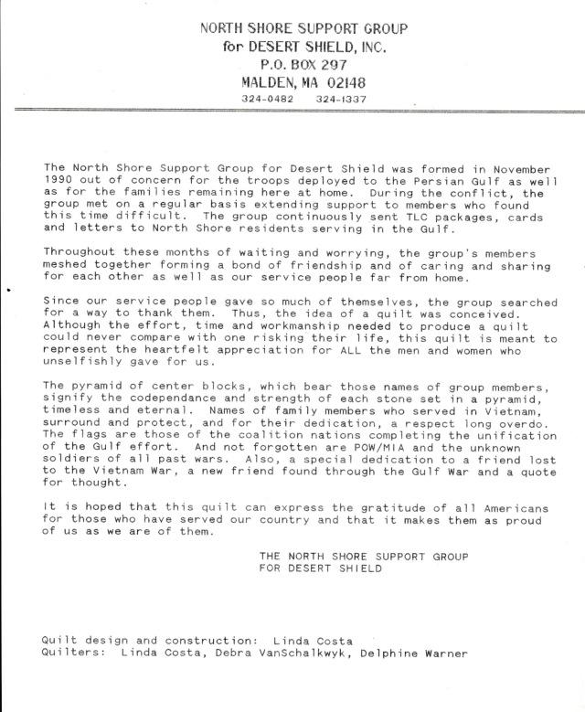 NSSG Statement