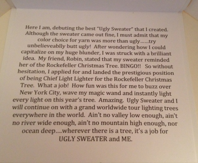 LAC Ugly Sweater card inside 2015
