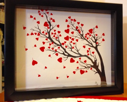 09-16 LAC framed heart tree Swap