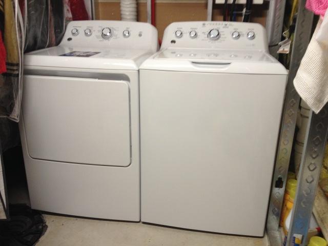 Washer & Dryer 2015