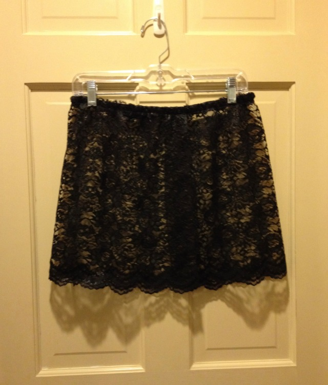 LAC Ballet skirt black lace